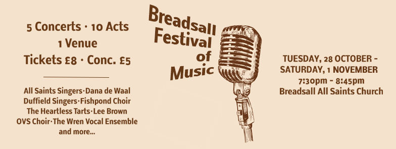 Breadsall Festival of Music 2014 Banner
