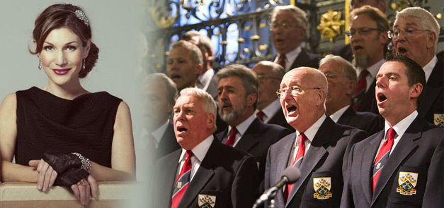 Karen England & The Dalesmen Male Voice Choir